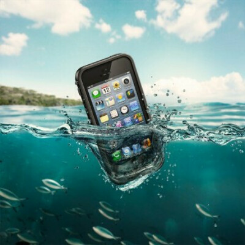 Водонепроницаемый чехол Lifeproof для IPhone 5/5s