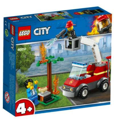 Конструктор LEGO City Fire 60212 Пожар на пикнике