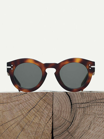 Céline Sunglasses Teddy round sunglasses