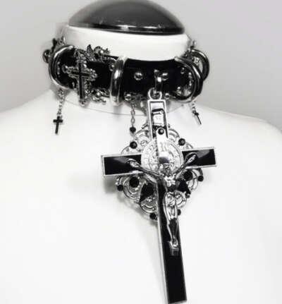 HOLY BLACK MASS choker
