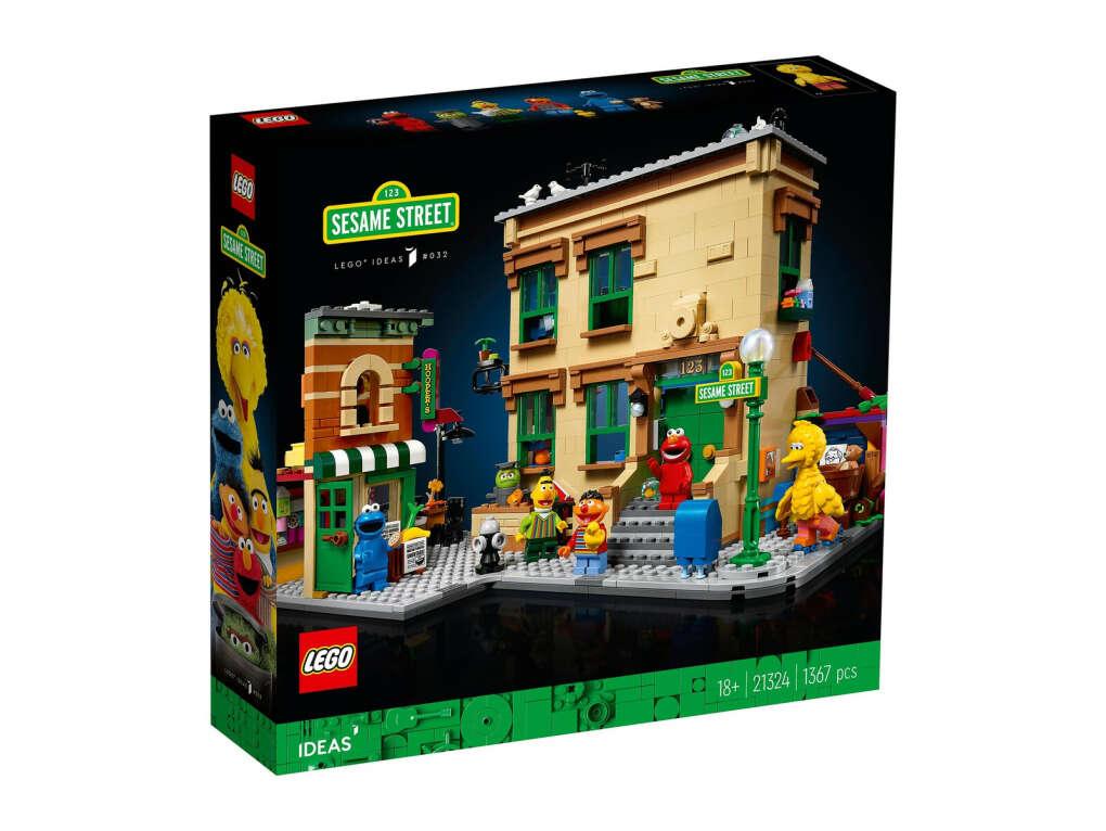 "Конструктор Lego Ideas 21324 ""Улица Сезам, 123"""