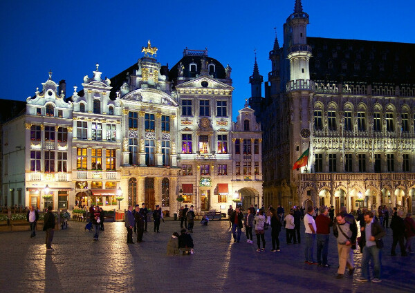 Побывать в Бельгии