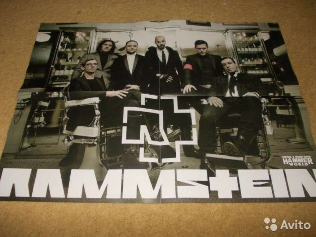 Плакат RAMMSTEIN