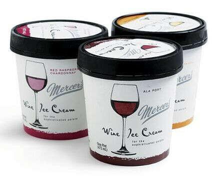 Мороженое из вина Mercer's