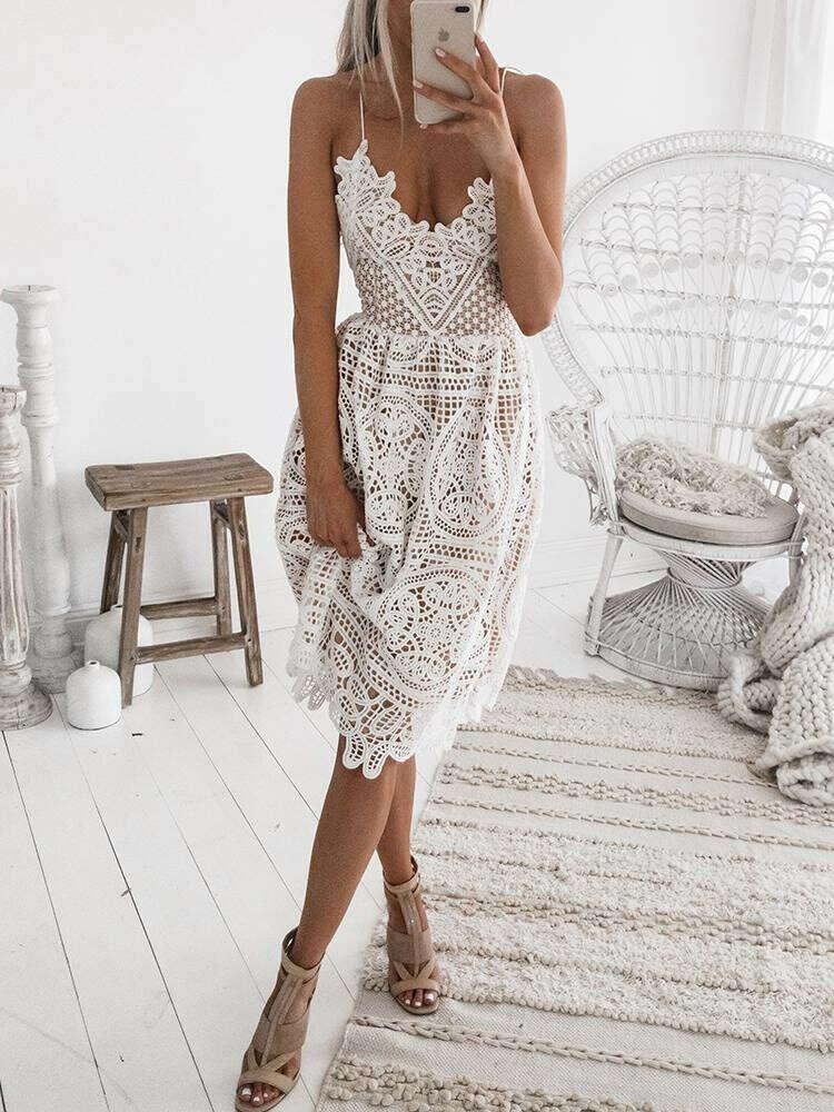 Платье куружевное