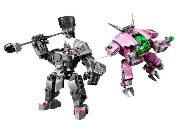 Lego Overwatch 75973 Д.Ва и Райнхардт