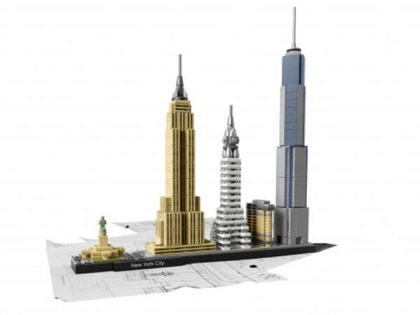 LEGO® Architecture: Нью-Йорк LEGO (ЛЕГО) - купить в Сети сертифицированных магазинов LEGO