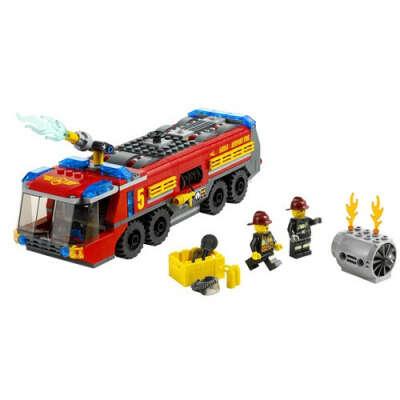 Конструктор Lego City Пожарная машина для аэропорта, лего 60061