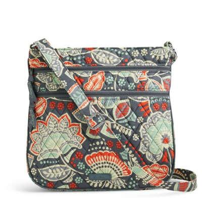 Vera Bradley Triple Zip Hipster Bag -  Nomadic Floral