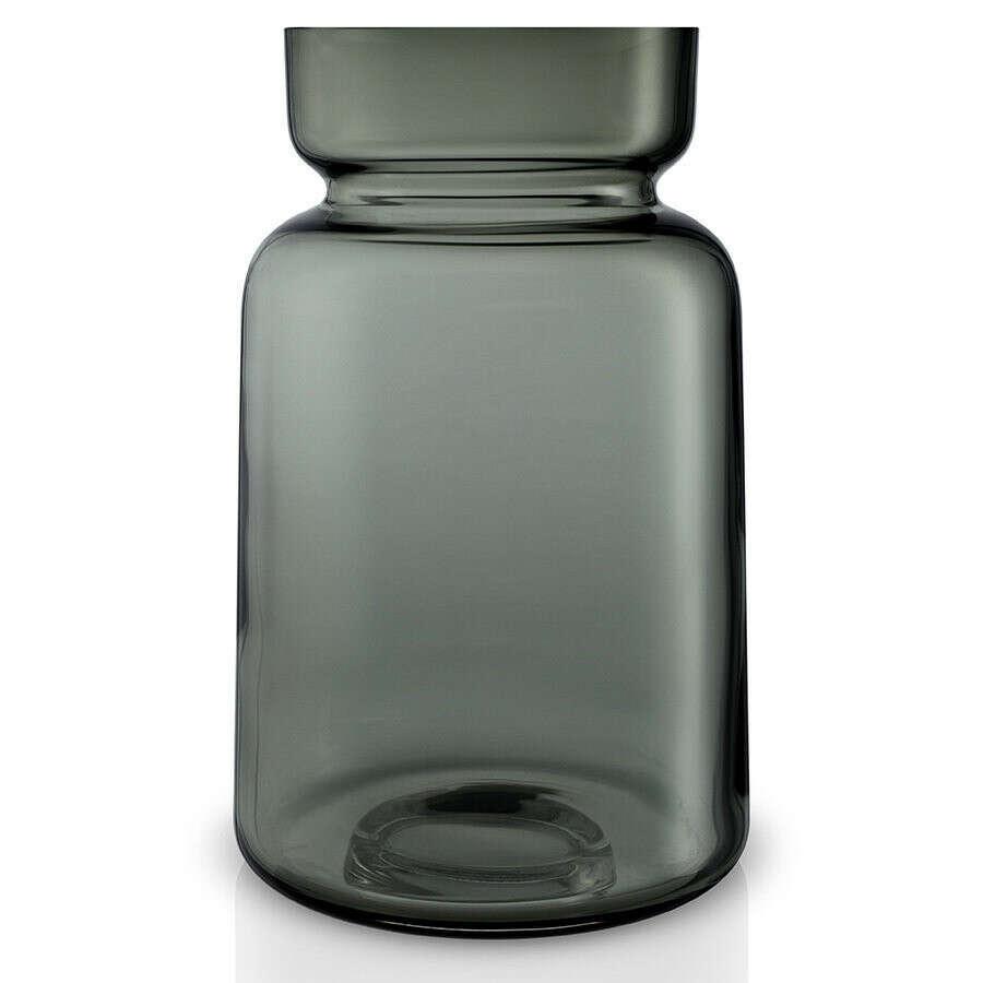 Ваза Silhouette из стекла серого цвета - Купить за 5690 руб. на INMYROOM.ru