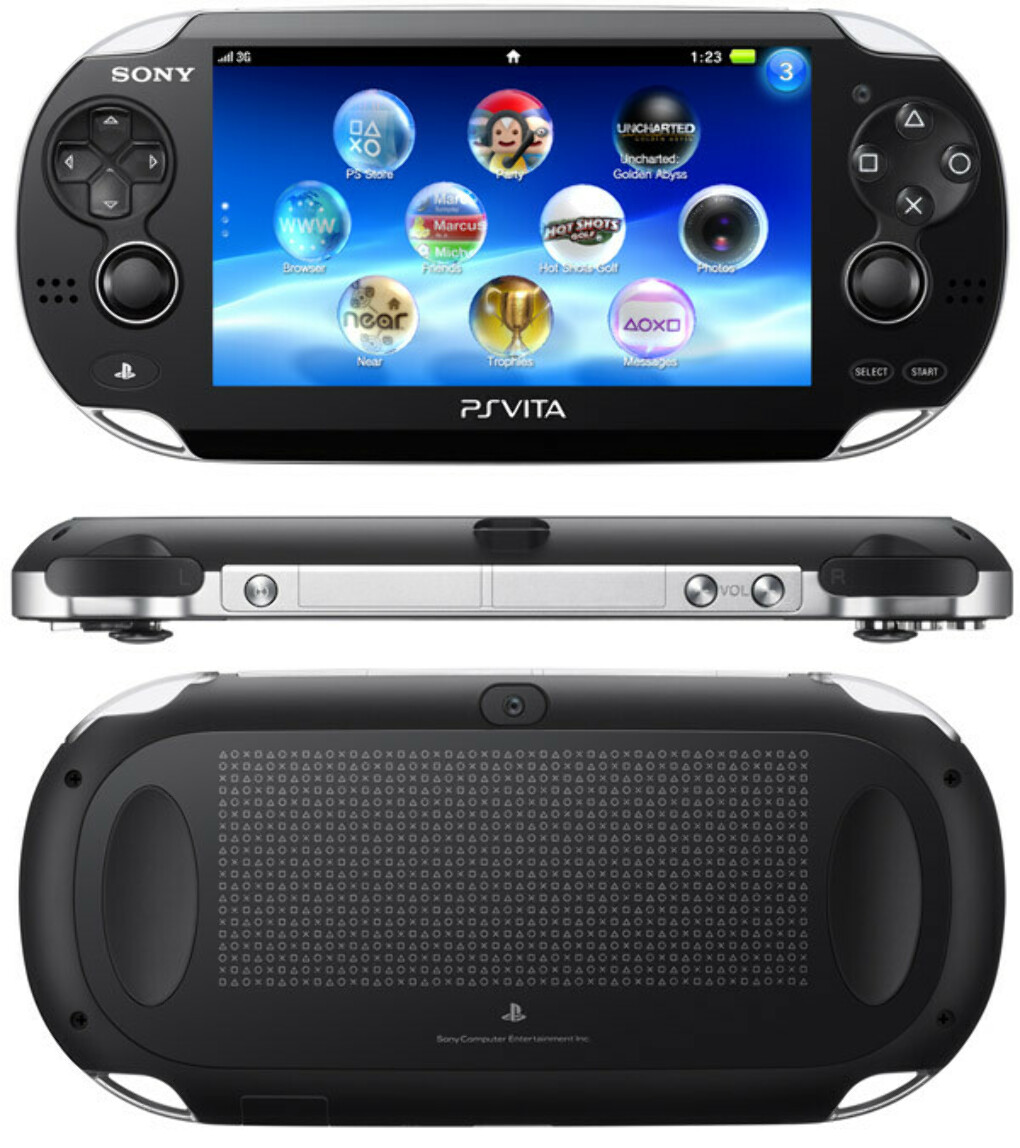 Sony PlayStation Vita 3G/Wi-Fi + LittleBigPlanet Voucher + Motorstorm RC + 4GB