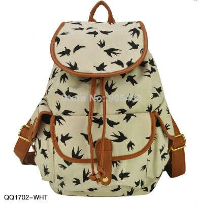 Рюкзак с птичками
