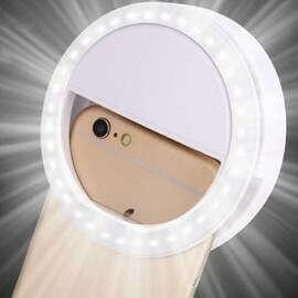 Кольцо-подсветка для смартфона
