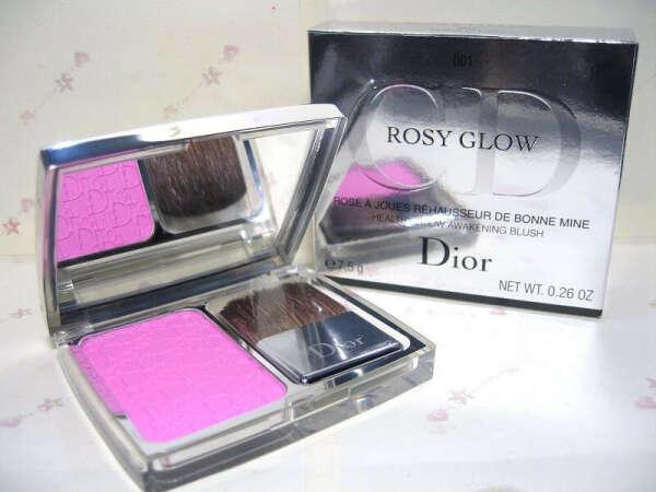 Dior румяна rosy glow