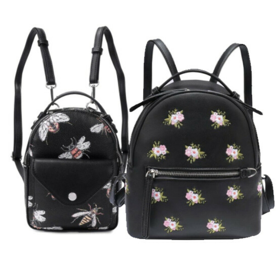 Рюкзаки Ors Oro в цветочек и с жуками