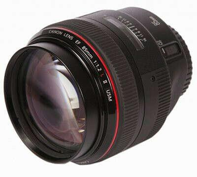 Объектив Canon EF 85 mm F/1.2 L II USM*