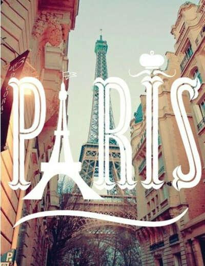 В Париж.