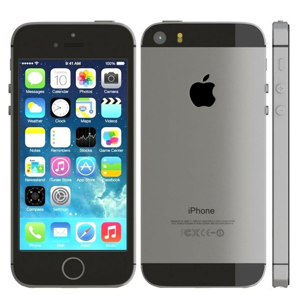 Apple iPhone 5s (Latest Model) - 16GB - Space Gray (Factory Unlocked) Smartphone