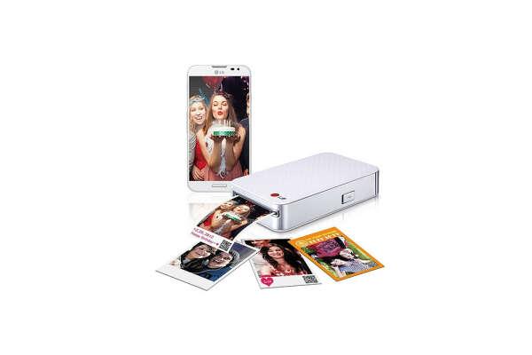 Портативный принтер LG Pocket Photo PD233