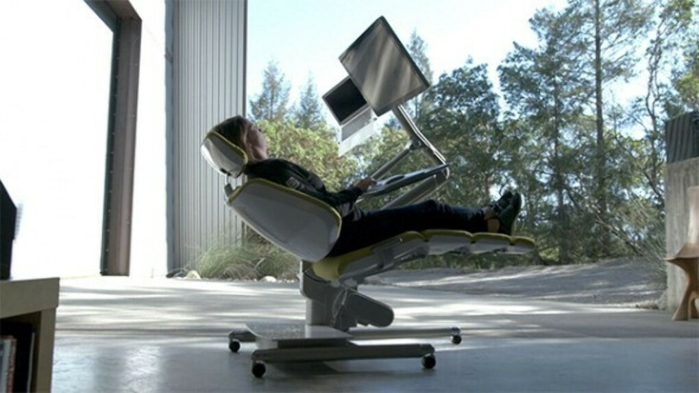 Altwork Station computer desk costs $5,900, but lets you work lying down | News | Geek.com