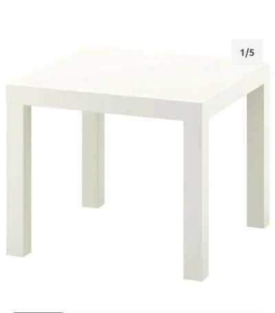 Столик ИКЕА белый