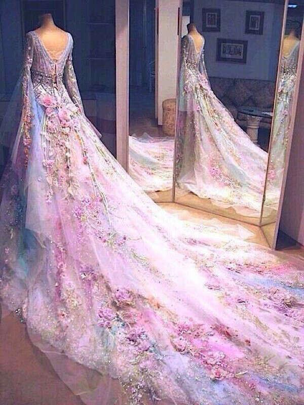 Сказочное платье