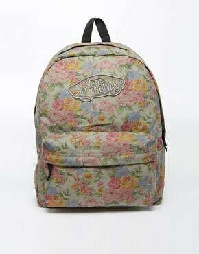 Рюкзак в цветочек Vans Realm