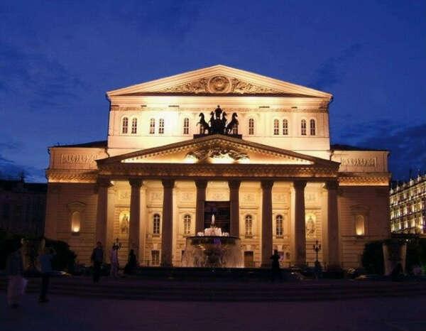 Посетить Большой Театр в Москве