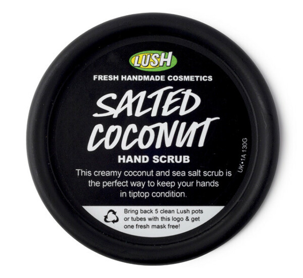 Скраб Солёный кокос