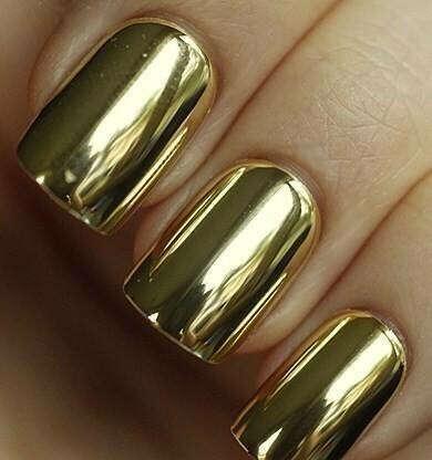 """Покрытие для ногтей """"Металлик"""""""