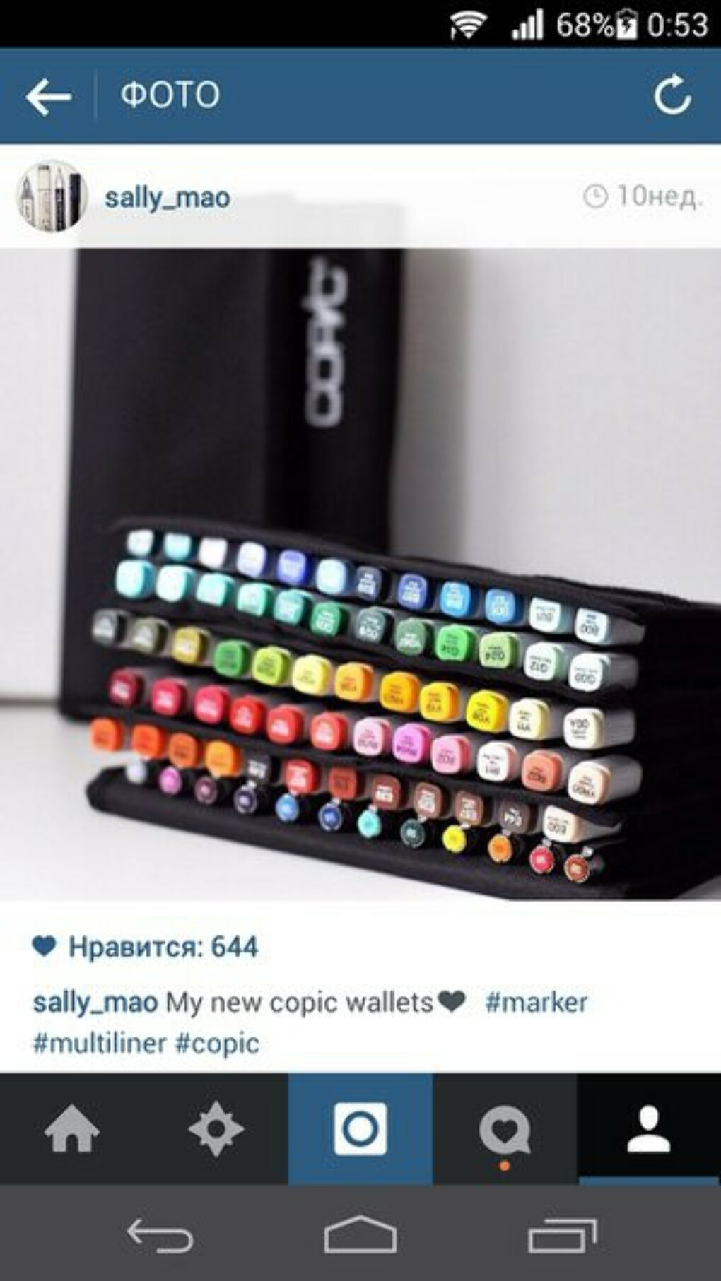 Маркеры Copic Markers