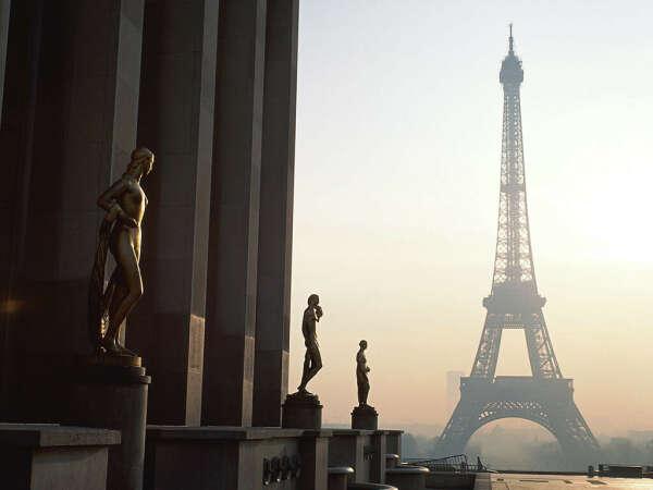 Романтические каникулы в Париже