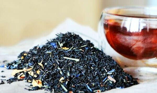 Какой-нибудь клёвый развесной чай
