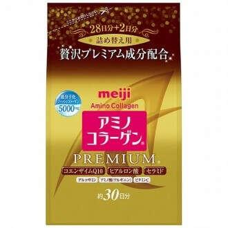 Аминоколлаген Премиум c Гиалуроновой кислотой и Коэнзимом Q10, Meiji