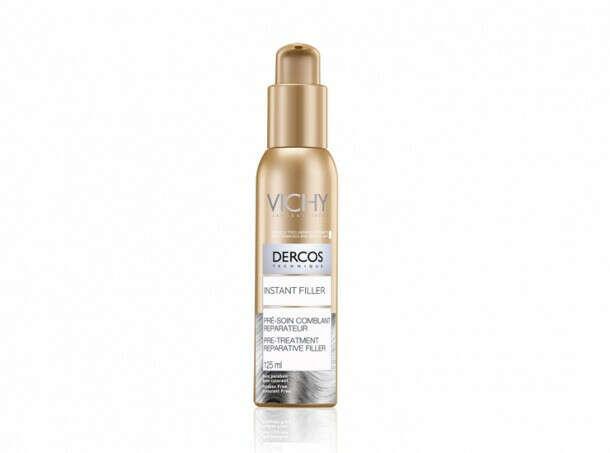"""Сыворотка """"Instant filler"""" Vichy Dercos для восстановления сухих и поврежденных волос"""