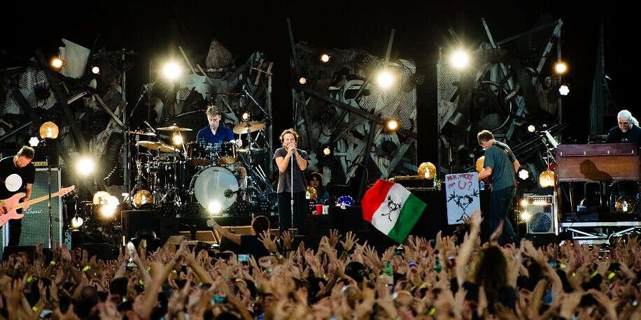 Концерт Pearl Jam