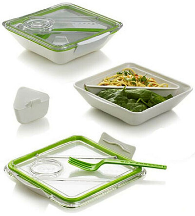 Ланчбокс 'Healthy Lunch' - Green. Интернет-магазин подарков PichShop.ru
