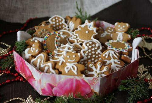 Много имбирного печенья