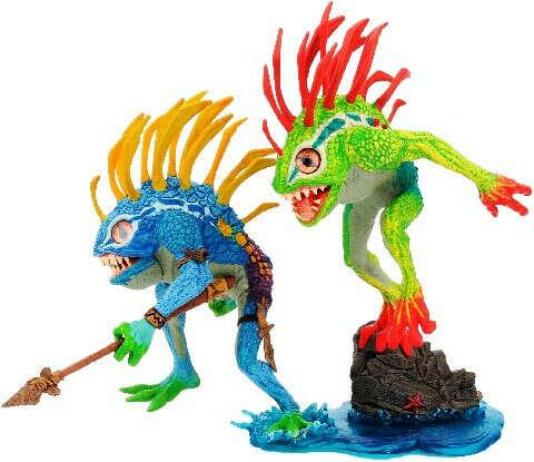 Фигурка World Of Warcraft Series 4 2-Pack: Murloc Fish-Eye And Gibbergil (Random Colors) /DC Unlimited