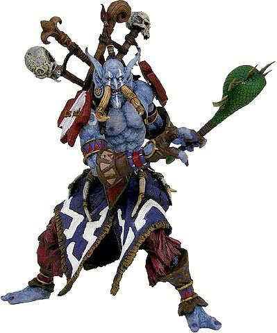 Фигурка World of Warcraft: Series 1 Jungle Troll Priest