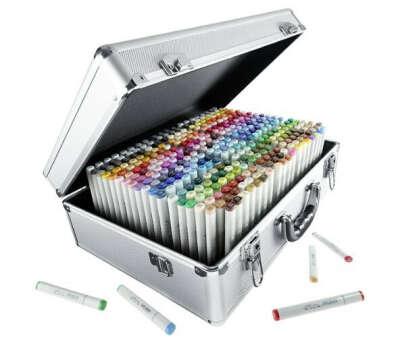 Набор маркеров COPIC sketch (358 шт) в чемодане