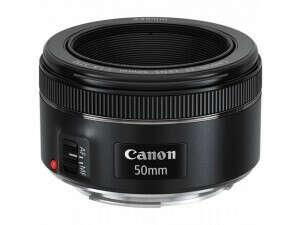 Объектив Canon 50mm f/1.8
