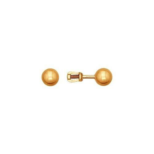 Серьги-пусеты и колье (белое золото)