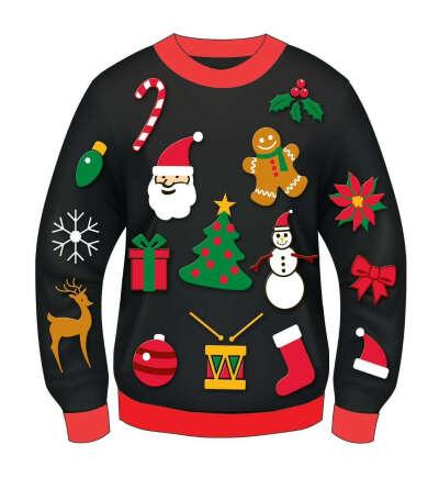 Агли свитер
