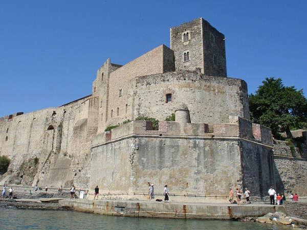 Посетить замок Коллиур