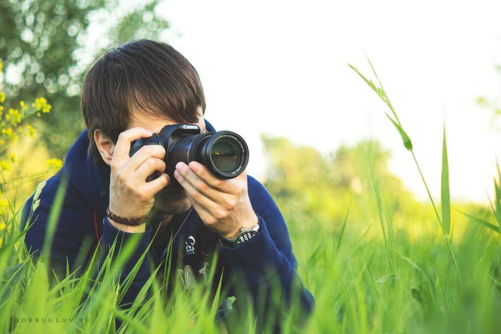 Фотографировать растения