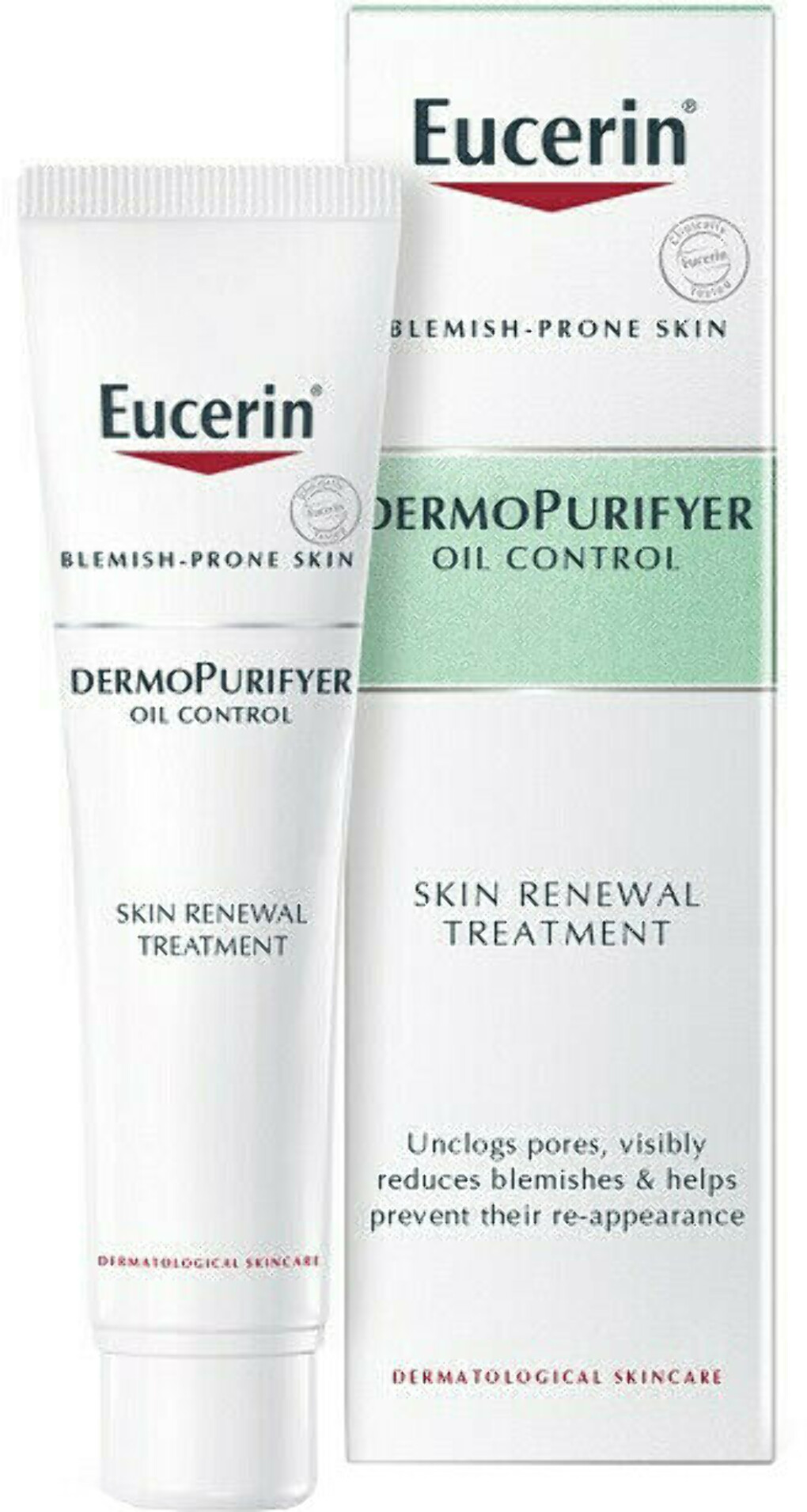 Eucerin dermopurifyer oil control skin renewal treatment