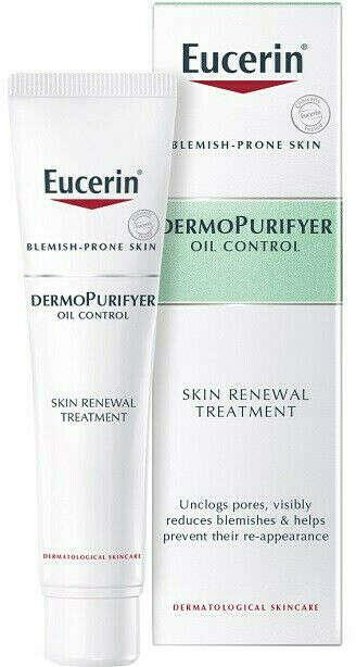 Eucerin dermopurifyer oil control skin renewal treatment