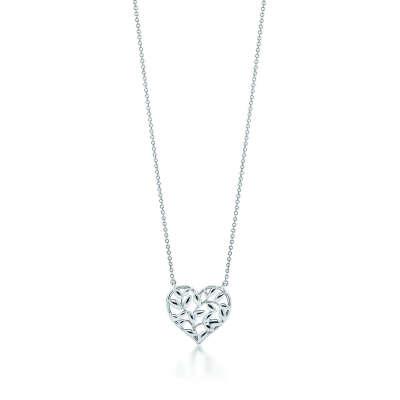 Tiffany & Co Подвеска-сердце Olive Leaf