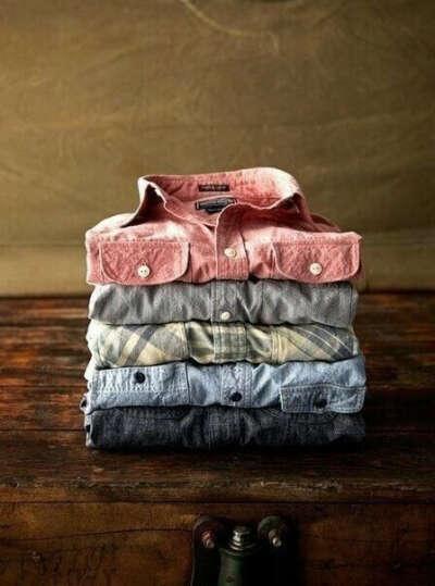 много-много рубашек